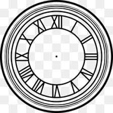 Clock Face Png Free Download Circle Time Blank Clock