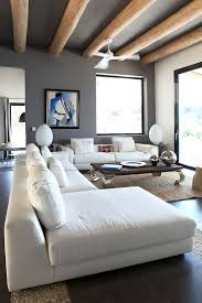 nice modern living rooms: modern living room post and beam dream