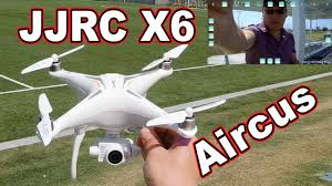 <b>JJRC X6 Aircus GPS</b> Drone Review - YouTube