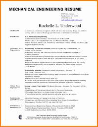 Resume Format For Experienced Mechanical Design Engineer Mechanical