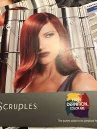 Details About Scruples High Definition Color Chart Hair Color Chart