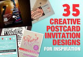 Photo Invitation Postcards 35 Creative Postcard Invitation Designs For Inspiration
