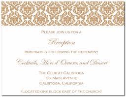 Wedding Reception Invites Wedding Reception Invites Of Decorative
