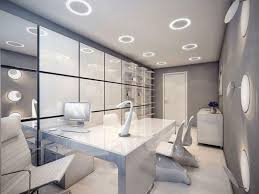 Office building design ideas amazing manufactory Industrial Office Deluxe White Finish Stained Wooden Monitor Desk Acrylic Home Office Interior Design Design Design Space Telavivian Director Office Design Paulshi