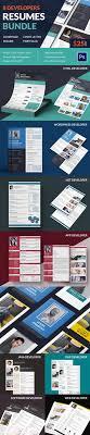 40 blank resume templates samples examples format developer resume cover page cover letter portfolio bundle 8 templates