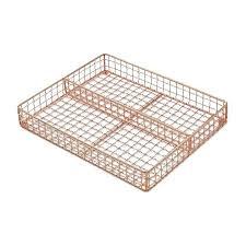 Superb Square Boot Tray Copper Utensil Accessories Tray Small . Square Boot Tray  ...