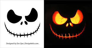 Pumpkin Carving Patterns Magnificent Simple Halloween Pumpkin Designs Halloween Carving Patterns 48 Free