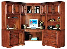 corner office desk hutch. Office Desk Hutch Build A Corner Credenza With Set Executive Furniture . Large