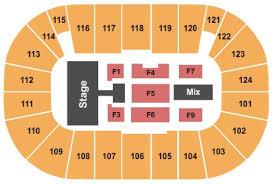 Seating Chart Tsongas Arena Lowell Ma Tsongas Center Tickets And Tsongas Center Seating Chart