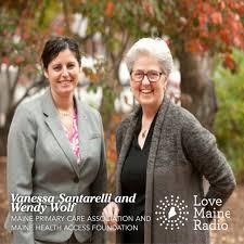 Wendy Wolf & Vanessa Santarelli on Love Maine Radio