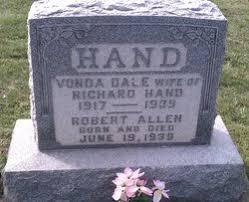 Vonda Dale Hand (1917-1939) - Find A Grave Memorial