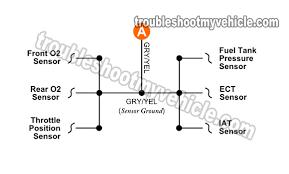1996 1997 map sensor wiring diagram (1 6l sidekick tracker) bosch map sensor connector at Map Sensor Wiring Diagram