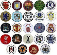 ball markers. official football club - golf ball markers (21 teams) [free uk p\u0026p ball markers