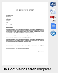 Free 8 Hr Complaint Forms In Pdf Word