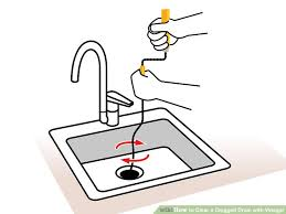 image titled clear a clogged drain with vinegar step 07