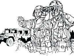 Military Color Pages Military Color Pages Soldier Coloring Page