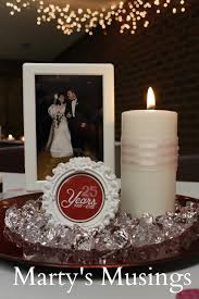 Wedding Anniversary Party Ideas 25th Anniversary Decorations Vow Renewal Ideas