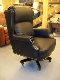 custom made office chairs. Plain Office Custom Built  Leather Desk Chair For An Execitive Office With Made Chairs U
