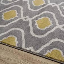 yellow gray area rug layers safavieh porcello with wayfair rugs and pulliamdeffenbaugh mid century modern plush