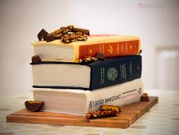 Got Her Birthday Cake Made From Some Of Her Favourite Books Beamazed
