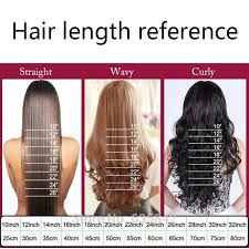 24 Inch Hair Chart Snoilite 16 Inches Short Wavy Invisible Wire No Clips In Hair Extensions Transparent Wire Hairpieces Natural Synthetic Hair 90g