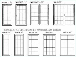 standard door sizes standard french door size fresh furniture for doors sizes design 5 standard sliding glass door size width