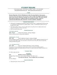 High School Resume Builder 2018
