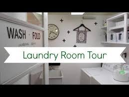diy small laundry room decor collab
