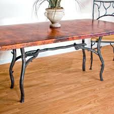 copper kitchen table large size of dining top room tables round