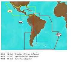 C Map 4d Full Content North America South America Chart Wide