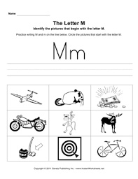 Based on jolly phonics, cartoonito activity sheets are a perfect resource to help support children while they are learning to read and write. Letter M Pictures
