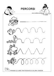 Schede Didattiche Bambini 5 Anni Da Stampare