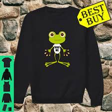 Long Frog Design Frog Design Cute Gift Shirt