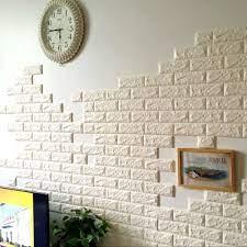 LELINTA 3D Self-Adhesive Wallpaper Faux ...
