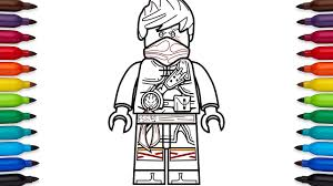 He's an ice ninja with white color. How To Draw Lego Ninjago Kai Hands Of Time Coloring Pages Youtube