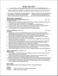 Gallery Of Resume Layout Examples Sample Resume Layout Professional