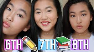 collection of solutions middle everyday makeup tutorial 6th 7th and 8th grade for 8th