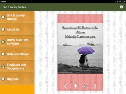 Lonely Quotes Enchanting Sad Alone Love Pain Quotes PRO 4848 APK Download Android Books