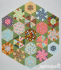 hexagon quilt along... finishing directions | Jaybird Quilts &  Adamdwight.com