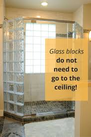 5 Myths about Anchoring a Glass Block Shower Wall