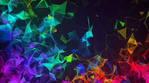 Wallpaper Razer Phone 2, abstract ...