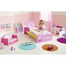 Peppa Pig Bedroom Stuff Character Snuggletime Junior Toddler Beds Three Mattress Option