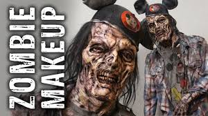 Any makeup can be divided into a warm or cold makeup type. The Walking Dead Behind The Scenes At E3 Zombie Makeup Youtube