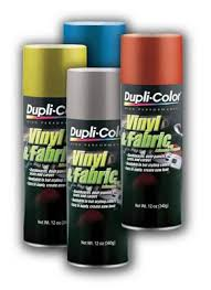 Duplicolor Vinyl And Fabric Paint Color Chart Dupli Color High Performance Vinyl And Fabric Coating Free
