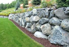 boulder retaining walls wall cost mn a 1 of 2
