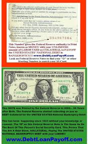 S From Insurance Debt Pays U Reserve Federal Credit Strawman Social Security Notes Money