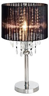 spencer crystal table lamp