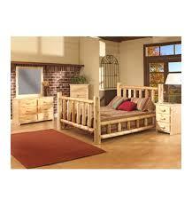 Log Bedroom Furniture Log Bed Wood You Furniture Anderson Sc