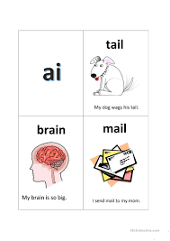 Phonics is knowing what letter (or letter combination) makes what sound and in what context. Phonics Ai Sound English Esl Worksheets For Distance Learning And Physical Classrooms