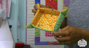 Catch-All Fabric Basket Tutorial- DIY - YouTube &  Adamdwight.com